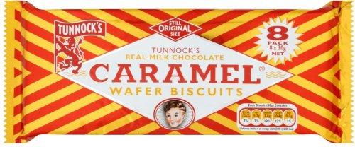 Tunnocks milk chocolate caramel wafers £1 @ Farmfoods