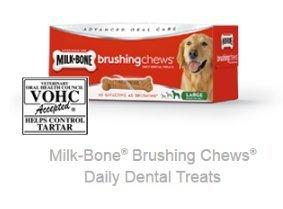 3 Pack Milk-Bone Brushing Chews from Milk Bone
