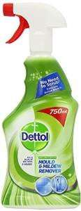 Dettol Anti-Bacterial Mould and Mildew Remover 750 ml - Pack of 3 - Amazon Subscribe & Save - £4.03 (use voucher)