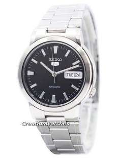 Seiko 5 Automatic Black Dial Men's Watch £54 delivered @ Creation watches