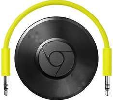 GOOGLE Chromecast Audio £20 @ Currys + Free Delivery
