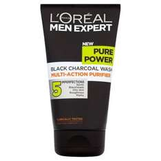 L'Oreal Paris Men Expert Pure Power Face Wash 150ml Superdrug £5.99 for 2  and free p&p for members Works on all men's L'oreal