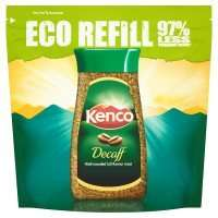 Kenco decaf coffee eco refill - 150g for £2.40 with PYO at Waitrose
