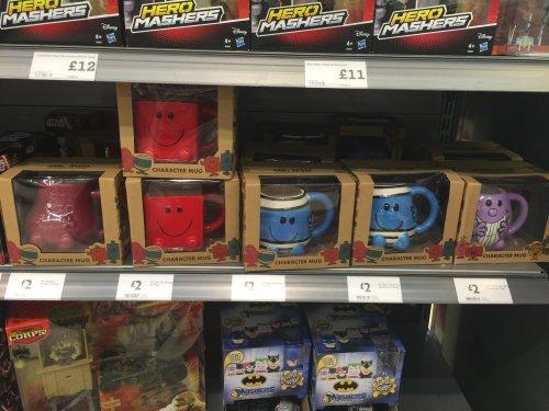 Large Mr Men/Little Miss mugs in gift packaging £2 @ Morrisons