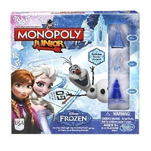 Monopoly junior: Frozen Edition £6 delivered @ Amazon (£10.75 delivered non-Prime)