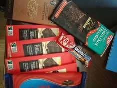 Sainsbury taste the difference chocolate sale from 20p