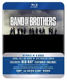 Band Of Brothers - The Complete Series (Commemorative 6-Disc Gift Set in Tin Box) [Blu-ray] £11.99 prime or £14.98 non prime  @ Amazon