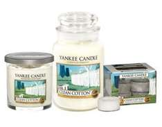 Yanke Candle Clean Cotton Bundle Flash Friday £25 at Boots