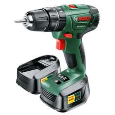 Bosch Cordless combi drill with two 2.0ah Li_Ion batteries £68 @ BandQ