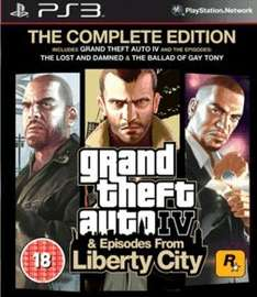 GTA IV Complete (PlayStation 3) @ Game £2.99 pre-owned
