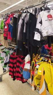 Children's Costumes reduced to £7.50 (half price) @ Sainsbury's in store