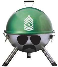 Grill Sergeant 12 inch BBQ £9.99 with FREE NEXT DAY DELIVERY @ eBuyer  (Buy today for del Saturday)