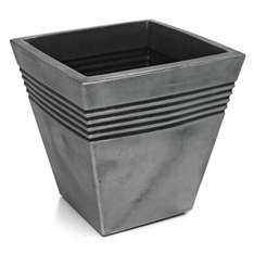 ** Planter Square Madrid Gun Metal - £5 @ Wilko (Free C&C) **