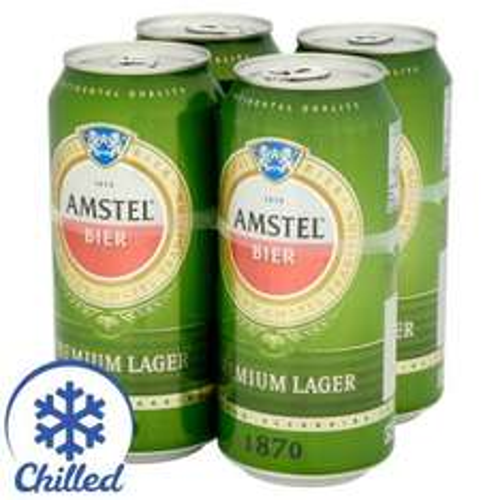 Amstel Premium Lager  4 x 440ml £3.50 @ Morrisons 1.99/L