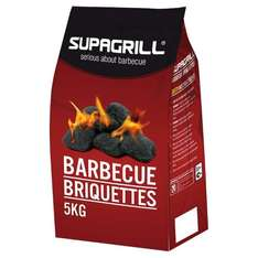 ** SUPAGRILL Charcoal Briquettes 5Kg now £2.99 @ Wickes **