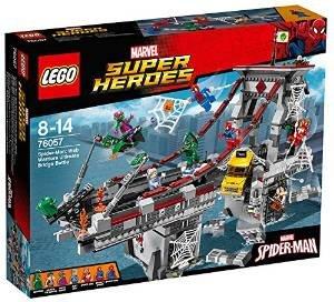 LEGO 76057 Super Heroes Spider-Man Web Warriors Ultimate Bridge Construction Set £62.49 Amazon (RRP £89.99)