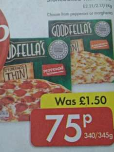 goodfellas pizza only 75p at Lidl NI