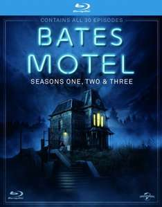 Bates Motel: Seasons 1-3 (Blu-Ray) £15.38 Delivered (Using Code) @ Zoom