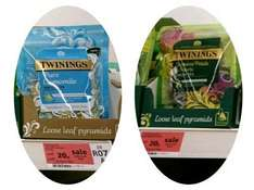 Twinings Loose Leaf Pyramids - Pure Camomile + Jasmine Petals & Pearls - Sainsbury's (in store) - 20p - Over 95.5% Off!