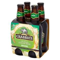 Crabbies 4 x 330ml Alcoholic Ginger Beer Only £2.50 @ Bargain Buys In Store