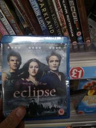 The Twighlight Saga - Eclipse Blu Ray £1 in Poundland