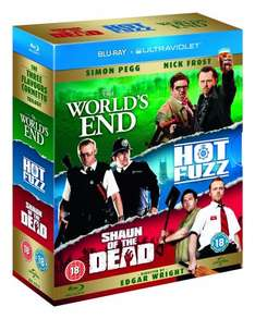 The World's End/Hot Fuzz/Shaun of the Dead - Cornetto Trilogy (Blu-ray) £7.99 Prime / add £1.99 for none-prime delivery