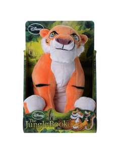 Disney 10-Inch Jungle Book Shere Khan Soft Plush Toy - £6.50 (Prime) / £10.49 (non Prime) @ Amazon