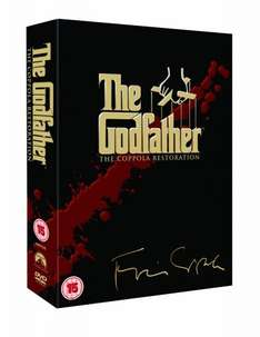 The Godfather - The Coppola Restoration [DVD] [1972] - £6.99 (Prime) / £8.98 (non Prime) @ Amazon