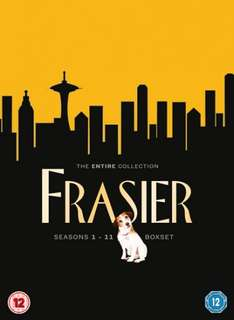 Frasier Complete Collection Seasons 1-11 [DVD] £20.99 with Free Delivery @ Amazon