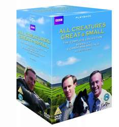 All Creatures Great and Small Complete Collection Seasons 1-7 plus Christmas Specials [DVD] [2013]  £17.99 (Prime) and £20.98 (Non-Prime) @ Amazon or £16.28 @ Zoom.co.uk using code SIGNUP10