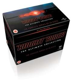 Knight Rider: Seasons 1-4 (Box Set) [DVD] £13.58 using Code SIGNUP10 @ Zoom.co.uk (NEW CODE RAK15OFF courtesy of AcornGuy2012 takes total to £12.83)
