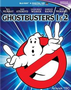 Ghostbusters 1 and 2 (Includes UltraViolet Copy) Blu Ray - NEW - MusicMagpie - £6.32 with code BANK20