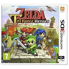 The Legend of Zelda Tri Force Heroes 3DS Game @ Argos for £12.49