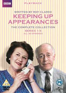 Keeping Up Appearances: Complete Series 1-5 (Box Set) [DVD] £9.08 using code SIGNUP10 @ Zoom.co.uk (NEW CODE RAK15OFF takes total to £8.58)