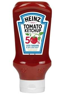 Heinz Reduced Sugar & Salt Tomato Ketchup only £0.89 at Home Bargains, normally £2.05