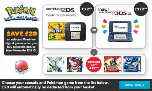 Nintendo 2DS & Mario & Pokemon £99 @ Nintendo