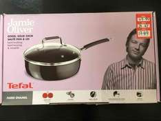 Jamie Oliver Tefal 24cm sauté pan at Dunelm in store only was £49.99 now
