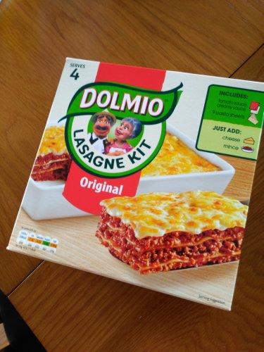 Dolmio Original Lasagne Kit 807g Serves 4 £1.50 @ B&M (INSTORE)