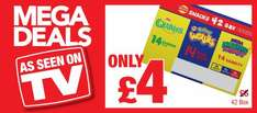 Wotsits (14) / Quavers (14) /Monster Munch (14) (Total 42 packs in box) for ONLY £4.00 Less than 10p packet @ Premier Stores