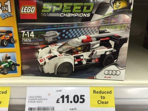 Lego speed champions Audi R18 - £11.05 instore @ Tesco