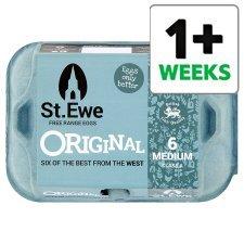 St Ewe Medium Free Range Eggs, 12 for £1.50 at Tesco
