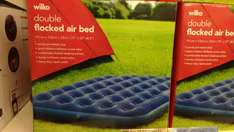 Double flocked Air Bed - £6 instore @ Wilko
