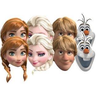 Disney Frozen Masks - 8 Pack - £1.99 @ Argos