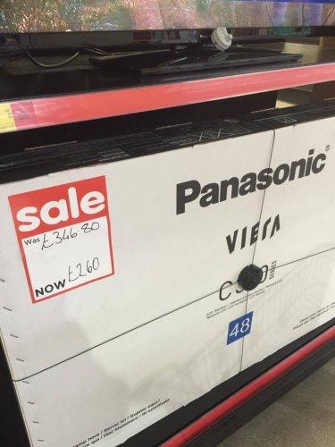 Panasonic tx-48c300b £260 @ Asda Dyce, Aberdeen