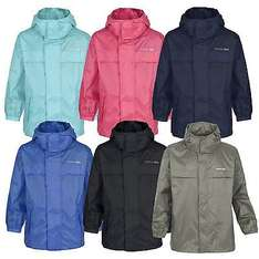 Trespass Kid's Boy's and Girl's Waterproof and Windproof Parka Jacket £8.49 Delivered @ Trespass EBay Outlet