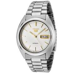 Seiko 5 Gent's Automatic, White Face-Grey Steel Bracelet £52.75 @ Amazon