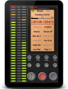 Field Recorder, Best Audio Recording Android App, half price