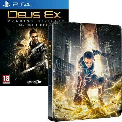 Deus Ex PS4 Day one Steelbook Edition £36.95 @ TGC