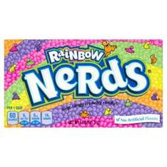 Rainbow Nerds sweets 141g £1 @ poundworld