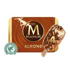Magnum Classic / Almond / Mint / White (4 Pack = 400ml) was £3.00 now £1.50 @ Morrisons